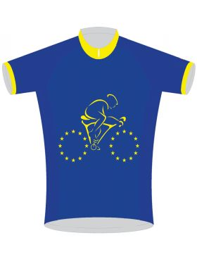 EU Flag Cycling Jersey