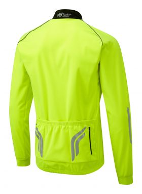 Oska Fluro Yellow Toastie Cycling Jacket