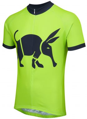 Oska Fluro Green Road Cycling Jersey