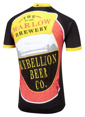 Rebellion Road Cycling Jersey Back