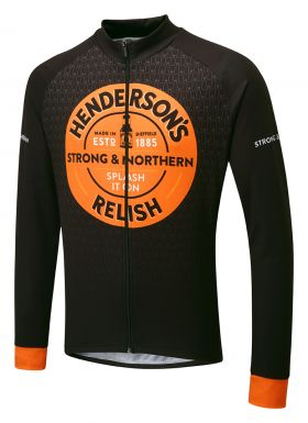Hendersons Winter Cycling Jersey