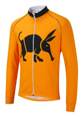 Oska Fluro Orange Toastie Cycling Jacket