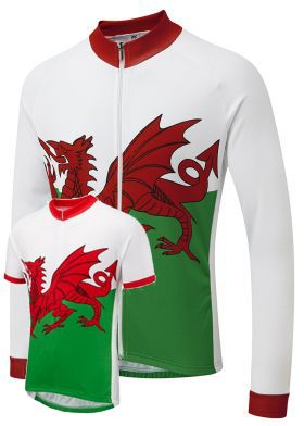 Wales Winter  Cycling Jersey