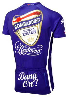 Bombardier Road Cycling Jersey Back