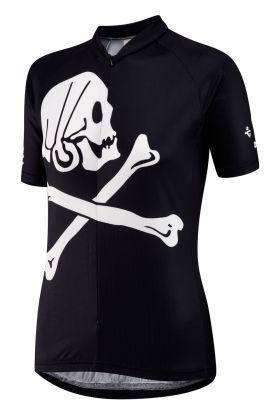 Pirate womens cycle jersey