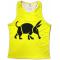 Oska Fluro Yellow Running Vest